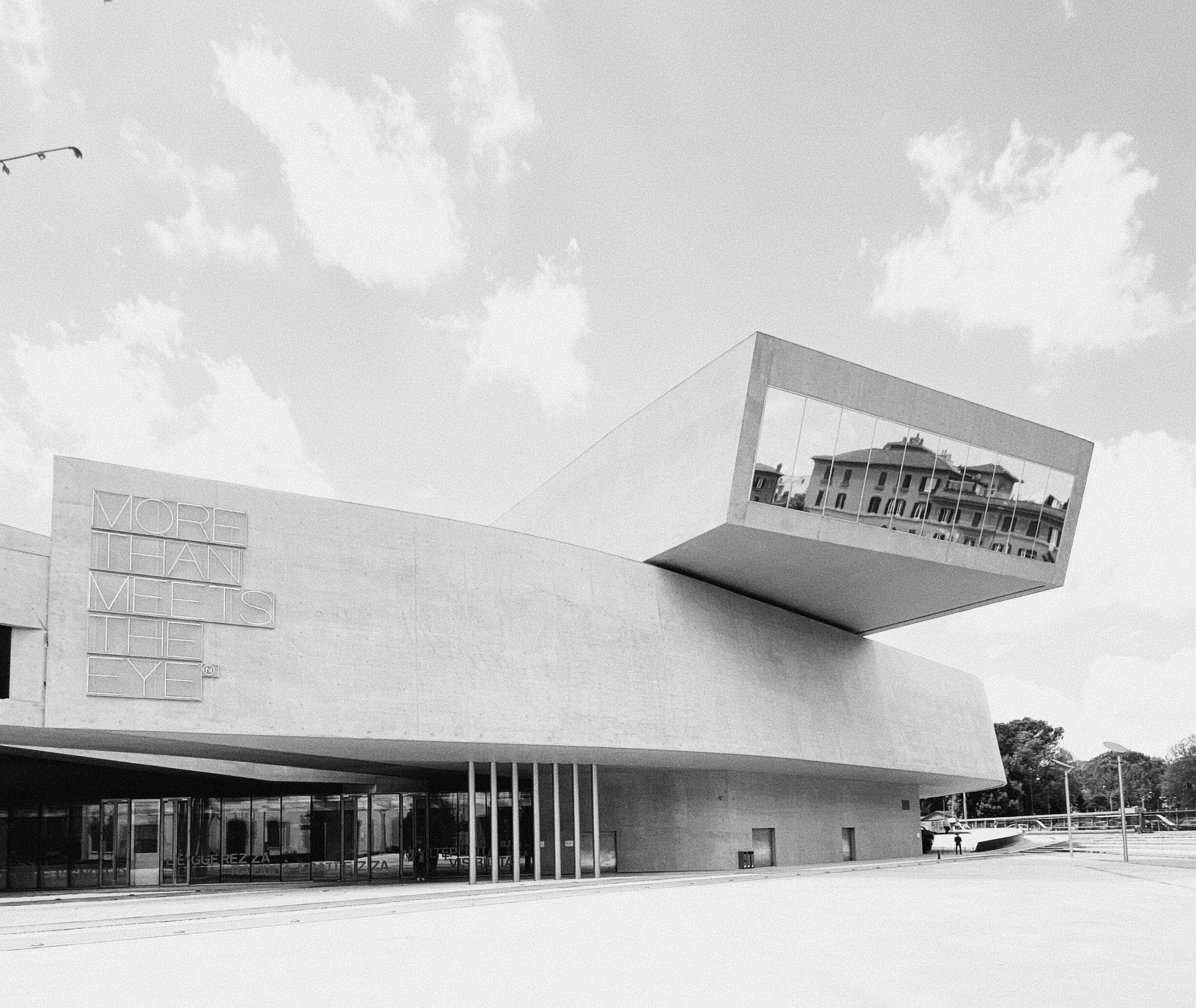 MAXXI Museum – Rome : Drawing the boundaries of virtual architecture